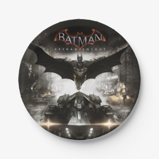 Batman Arkham Knight Key Art 7 Inch Paper Plate