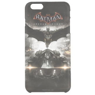 Batman Arkham Knight Key Art Clear iPhone 6 Plus Case