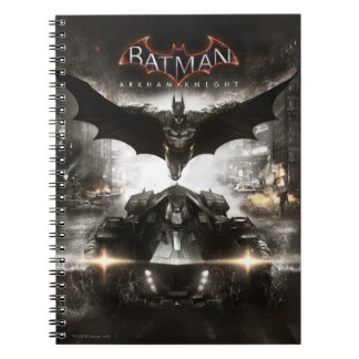 Batman Arkham Knight Key Art Notebook