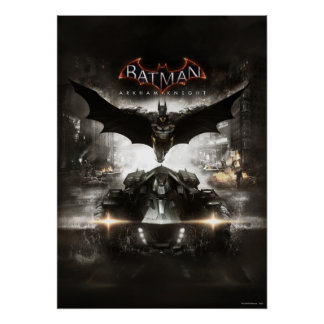 Batman Arkham Knight Key Art Poster