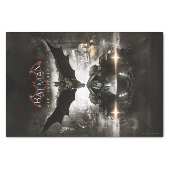 Batman Arkham Knight Key Art Tissue Paper
