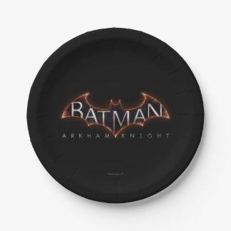 Batman Arkham Knight Logo 7 Inch Paper Plate