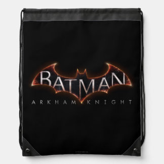 Batman Arkham Knight Logo Drawstring Bag