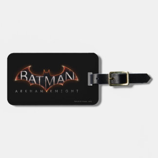 Batman Arkham Knight Logo Luggage Tag