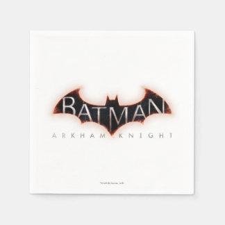 Batman Arkham Knight Logo Paper Napkins