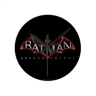 Batman Arkham Knight Logo Round Clock