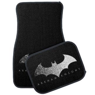 Batman Arkham Knight Pixel Logo Car Mat