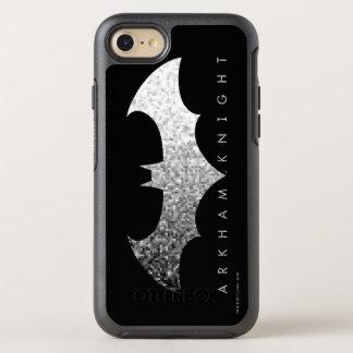 Batman Arkham Knight Pixel Logo OtterBox Symmetry iPhone 7 Case