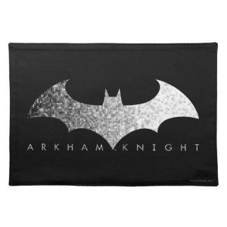 Batman Arkham Knight Pixel Logo Placemat