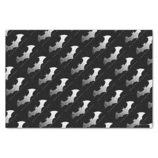 Batman Arkham Knight Pixel Logo Tissue Paper