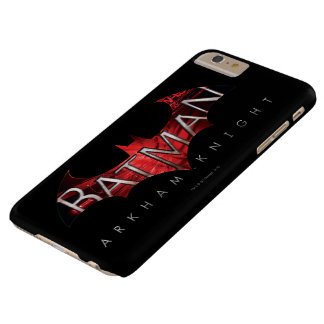 Batman Arkham Knight Red Logo Barely There iPhone 6 Plus Case