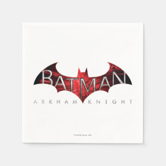 Batman Arkham Knight Red Logo Paper Serviettes
