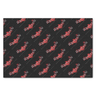 Batman Arkham Knight Red Logo Tissue Paper