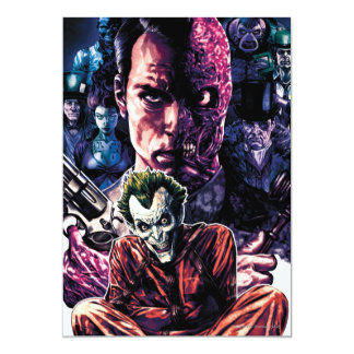 Batman - Arkham Unhinged #11 Cover 13 Cm X 18 Cm Invitation Card