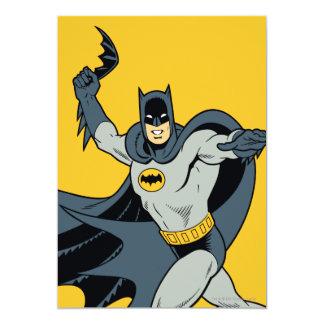 Batman Batarang 13 Cm X 18 Cm Invitation Card