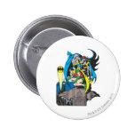 Batman/Batgirl/Robin Pinback Buttons