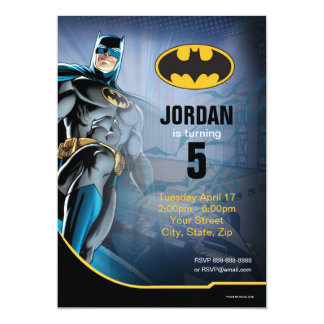 Batman Birthday Card
