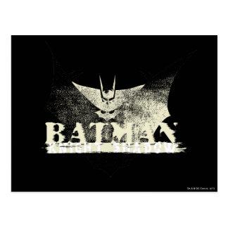 Batman Black and Tan Postcard