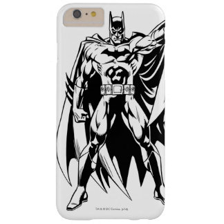 Batman Black and White Front Barely There iPhone 6 Plus Case