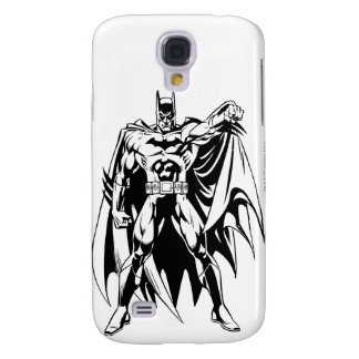 Batman Black and White Front Galaxy S4 Case