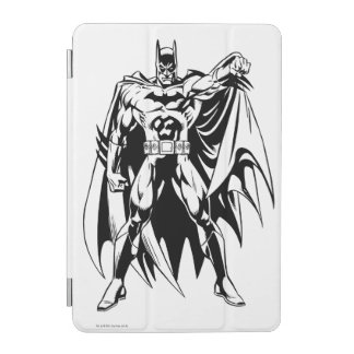 Batman Black and White Front iPad Mini Cover