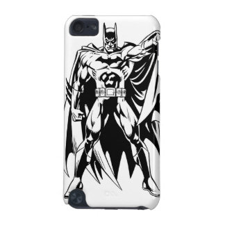 Batman Black and White Front iPod Touch (5th Generation) Case