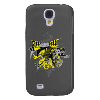 Batman Black and Yellow Collage Galaxy S4 Case