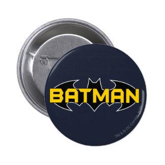Batman Black and Yellow Logo 6 Cm Round Badge