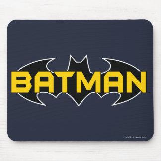 Batman Black and Yellow Logo Mouse Pad