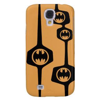 Batman Black Orange Frame Galaxy S4 Case