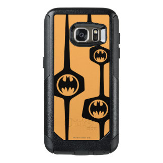 Batman Black Orange Frame OtterBox Samsung Galaxy S7 Case
