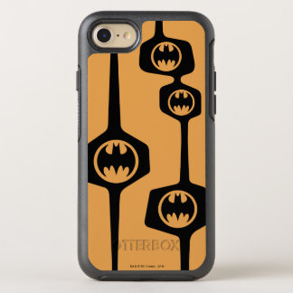 Batman Black Orange Frame OtterBox Symmetry iPhone 8/7 Case