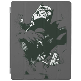 Batman Black & White Graffiti Stencil iPad Cover