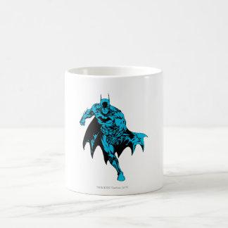 Batman Blue Basic White Mug