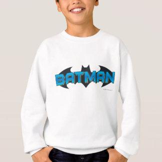 Batman | Blue Name Logo Sweatshirt