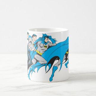 Batman/Bruce Transformation Basic White Mug
