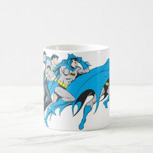 Batman/Bruce Transformation Coffee Mug