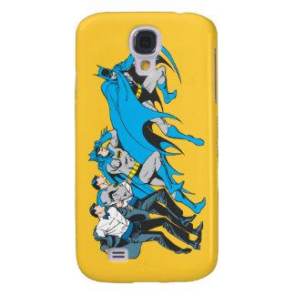 Batman/Bruce Transformation Galaxy S4 Case