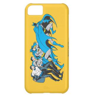 Batman/Bruce Transformation iPhone 5C Case