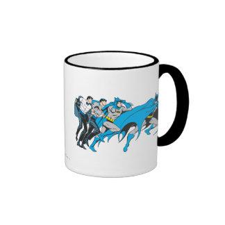 Batman/Bruce Transformation Ringer Mug
