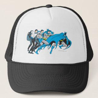 Batman/Bruce Transformation Trucker Hat