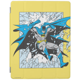 Batman Bursts Through Glass iPad Cover