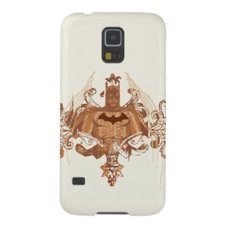 Batman Bust with Flourishes Galaxy S5 Cases