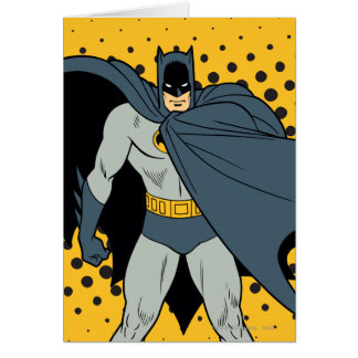 Batman Cape Card