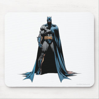 Batman cape over one side mouse mat