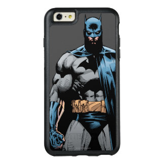 Batman cape over one side OtterBox iPhone 6/6s plus case