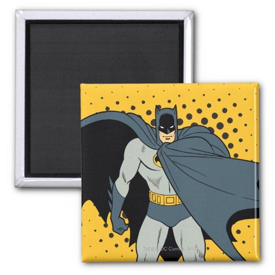 Batman Cape Square Magnet