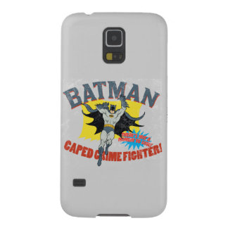 Batman Caped Crime Fighter Galaxy S5 Case