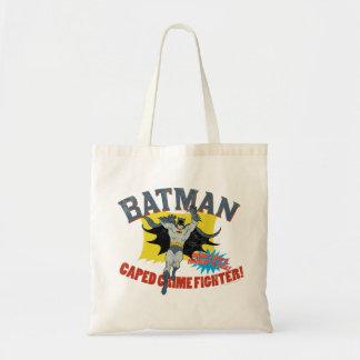 Batman Caped Crime Fighter Tote Bag