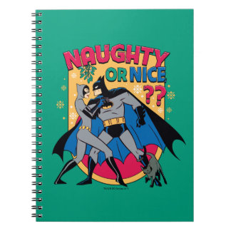 Batman | Catwoman Under Mistletoe Naughty Or Nice Notebooks